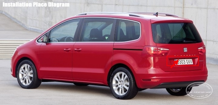 Seat-Alhambra-2011-license-plate-lamp