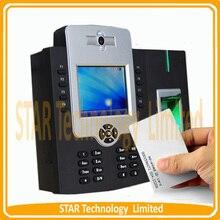 50000 Capacidad de Huellas Digitales Biométrico de huellas dactilares Tiempo de asistencia y control de acceso sistema/función rfid (iclock880)