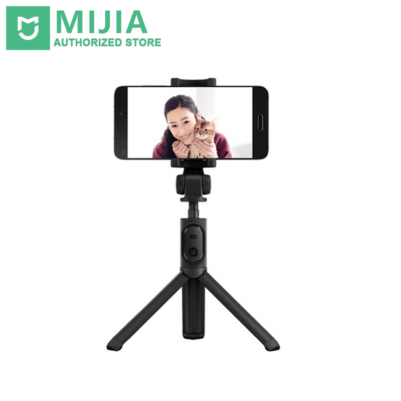 Original Xiaomi Mi Selfie Stick Tripod Դյուրակիր Monopod Bluetooth Extendable Handheld Tripod Holder for iOS / Xiaomi / Huawei