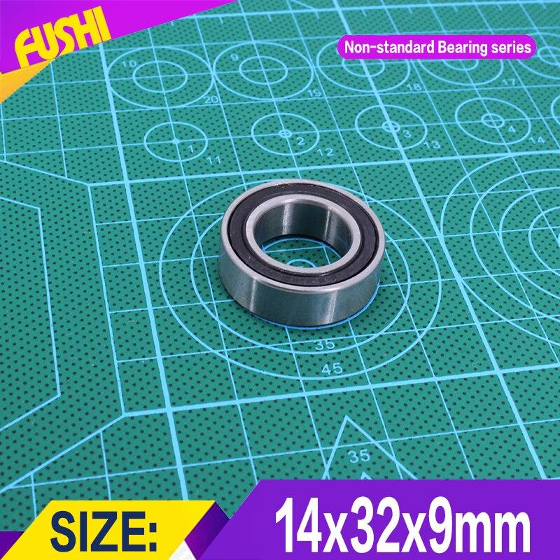 14329 Non-standard Ball Bearings  Iner Diameter 14 mm  Outer Diameter 32 mm  Thickness 9 mm Bearing 14*32*9 mm headl iner джинсовые брюки