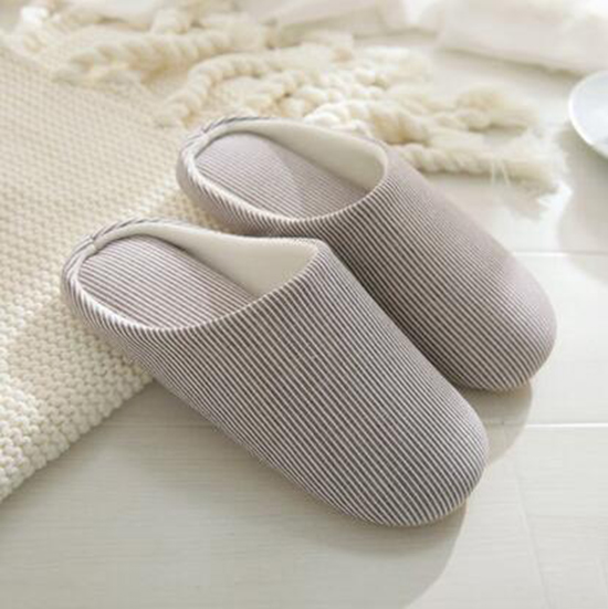 Spring Autumn Cotton Home Hombre Slippers Soft Soft Soft No Noise Comfortable Anti Slip Flip1 50e470