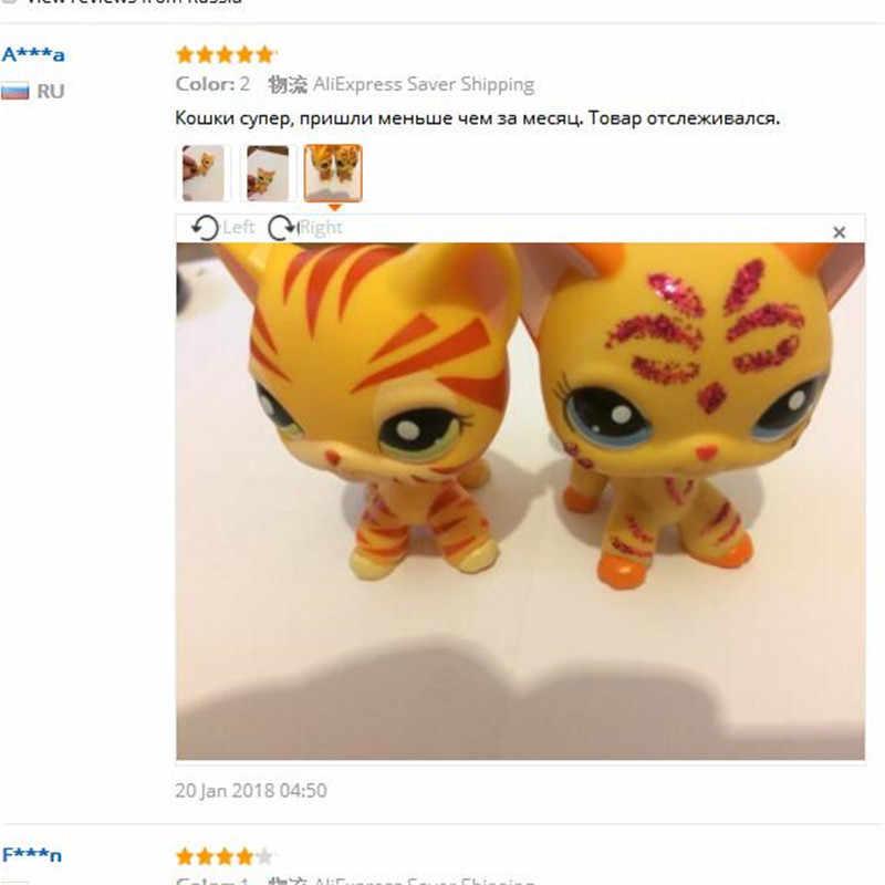 LPS Toko Hewan Peliharaan Rambut Pendek Kucing Mainan Great Dane Collie Anjing PVC Action Berdiri Figures, Mainan Cosplay Boneka Model mainan Hadiah untuk Anak-anak