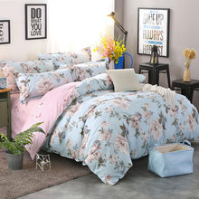 Duvet Cover Sets Single Twin Queen King Size Bed Linens Bedspreads Quilt Comforter Case Soft Cotton Bedclothes 24(China)