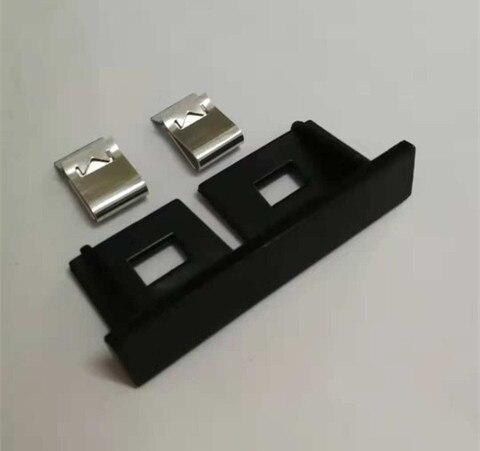 4 piezas INSIGNIA Parrilla frontal de acero inoxidable cromado
