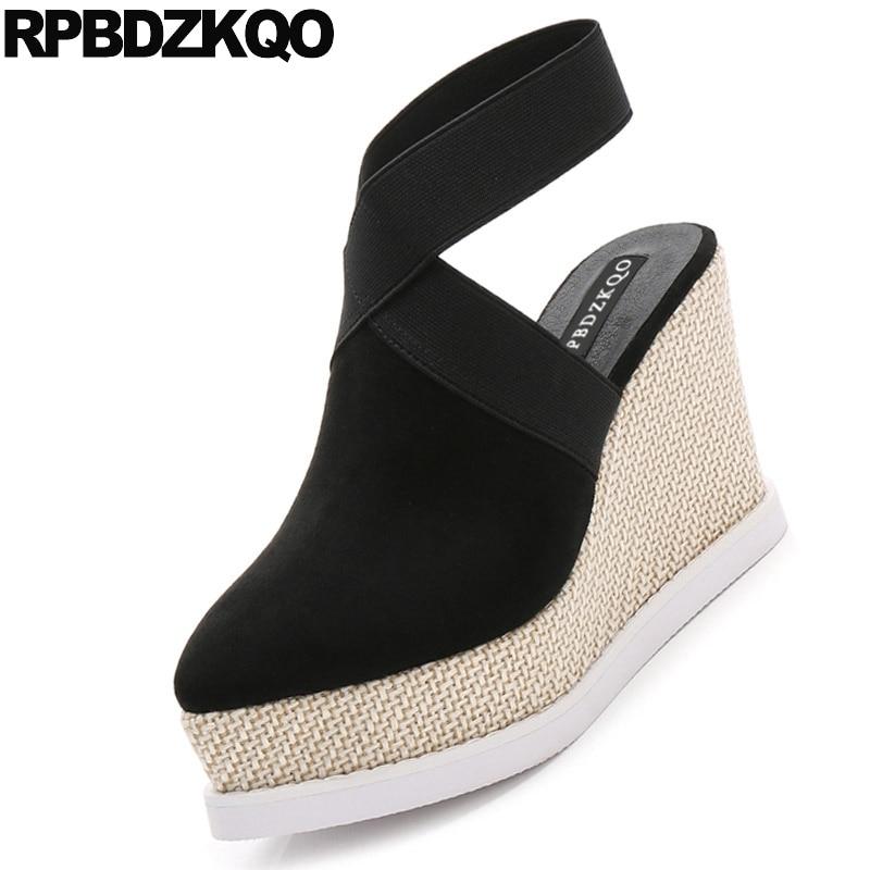 women platform wedge sandals high heels
