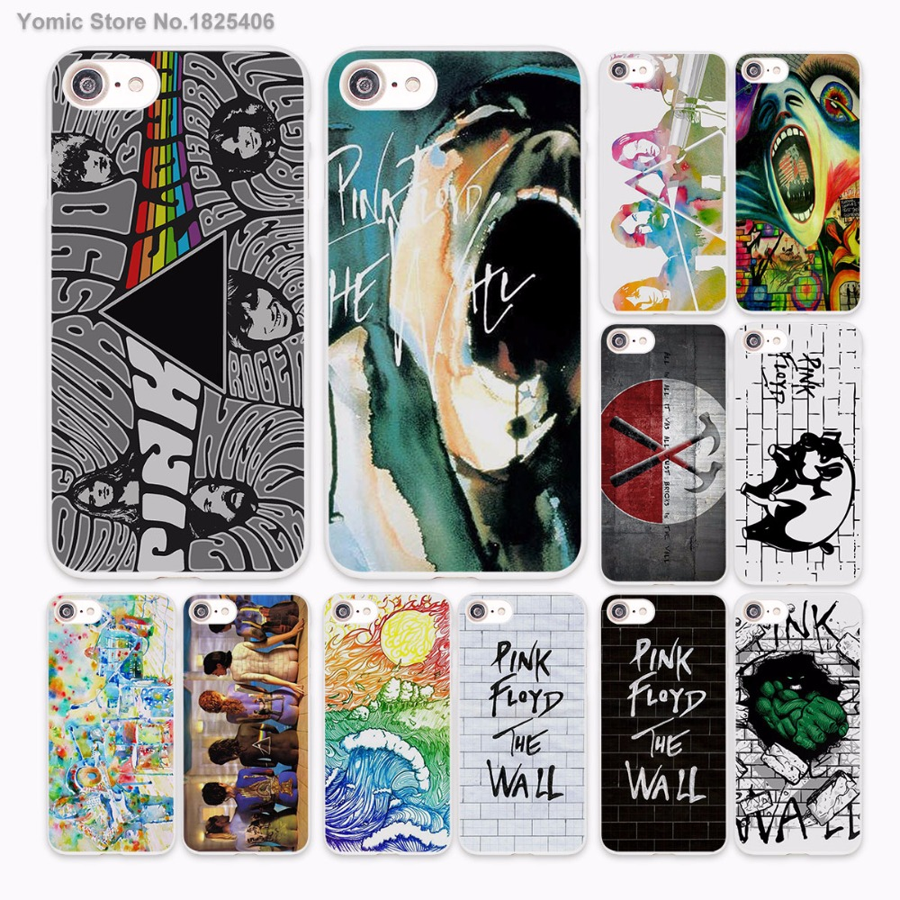 rock music Pink Floyd groups the wall design hard White Case Cover for Apple iPhone 7 6 6s Plus SE 5 5s 5C 4 4s phone case
