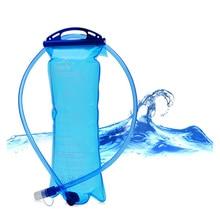 Aokali Esportes Saco de Água de Acampamento Ao Ar Livre Caminhadas Portátil Beber Conjunto 2L Luz Dobrável Saco De Garrafa De Água