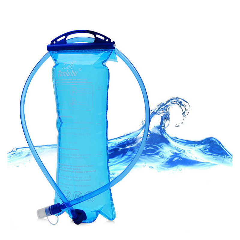 Aokali Sports Water Bag Outdoor Camping Hiking Portable Drinking Set 2L Folding Light Water Bag Bottle-in Water Bags from Sports & Entertainment