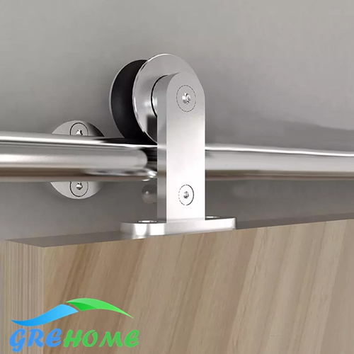 Stainless Steel Interior Sliding Barn Door Hardware Track Kit