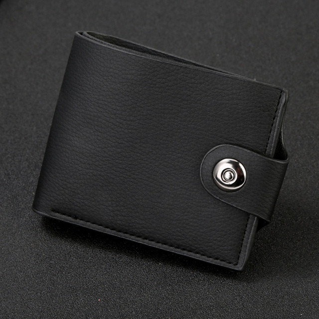 PU Leather Male Wallets Purse Gift High Quality 1