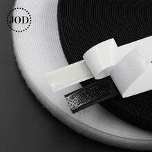 1Meter Black White Hook and Loop Fastener Tape Magic Nylon Sticker Adhesive Disks Velcros 3M Glue 16/20/25/30/40/50mm JOD