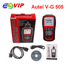 2016 Super MaxiService V–G505 Scan Tool Diagnostic OBDII Code Reader V–AG 505 For W / AUD/s-at/Sk-da Vehicles Update on line