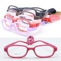 Porción al por mayor TR688 Kid tr90 superior squre seguridad flexible marco óptico plu correa ajustable anteojos alumno durable envío gratis