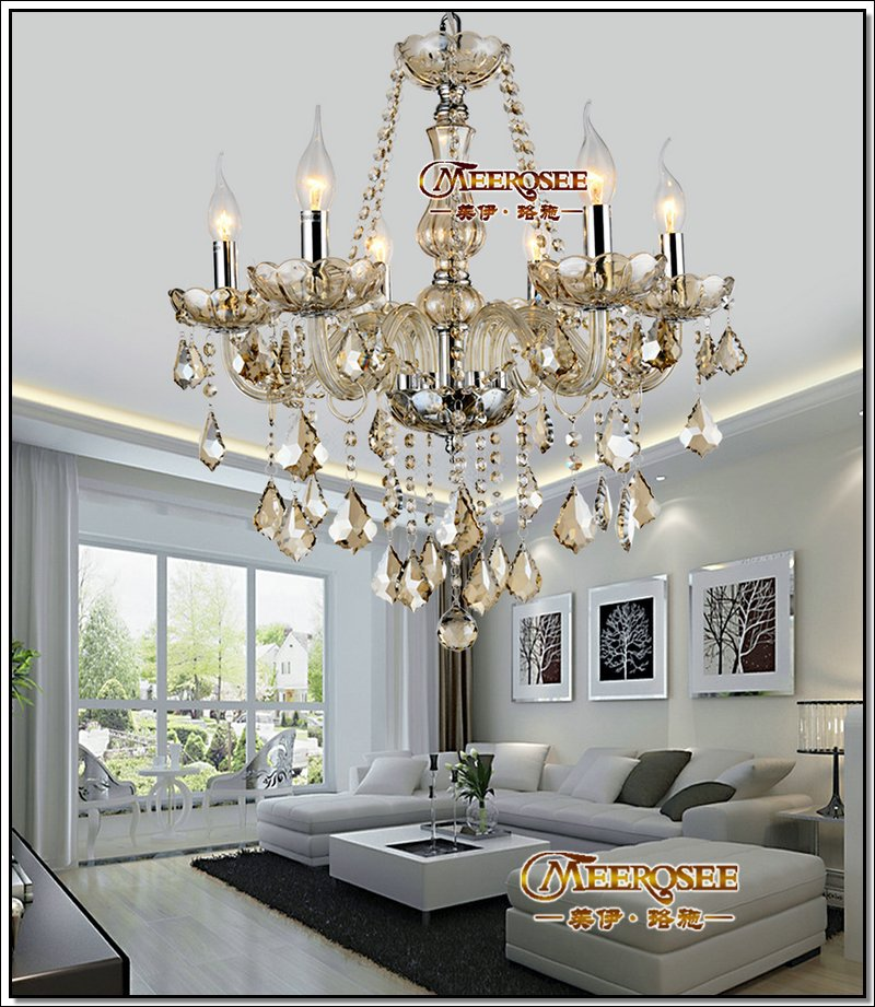 chandelier light fixtures. Crystal Chandelier Light Fixture Glass Cristal Lustre Lamp With Beads Pendants For Dining Room Different Color Options-in Chandeliers From Lights \u0026 Lighting Fixtures I