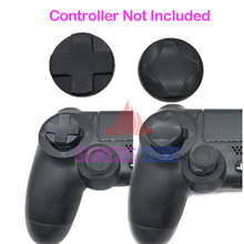 10SETS=20PCS Removable Stickable For Playstation 4 Controlle D Pad Extender Cap for PS4 Directional Button(China)
