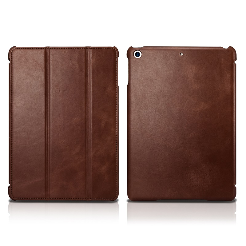 ICarer 本革ケースカバーのための iPad 9.7 インチ (2018) でスタンド/スリープ/ウェイクアップの Ipad 9.7 インチ (2017)  グループ上の パソコン & オフィス からの タブレット & 電子書籍ケース の中 2
