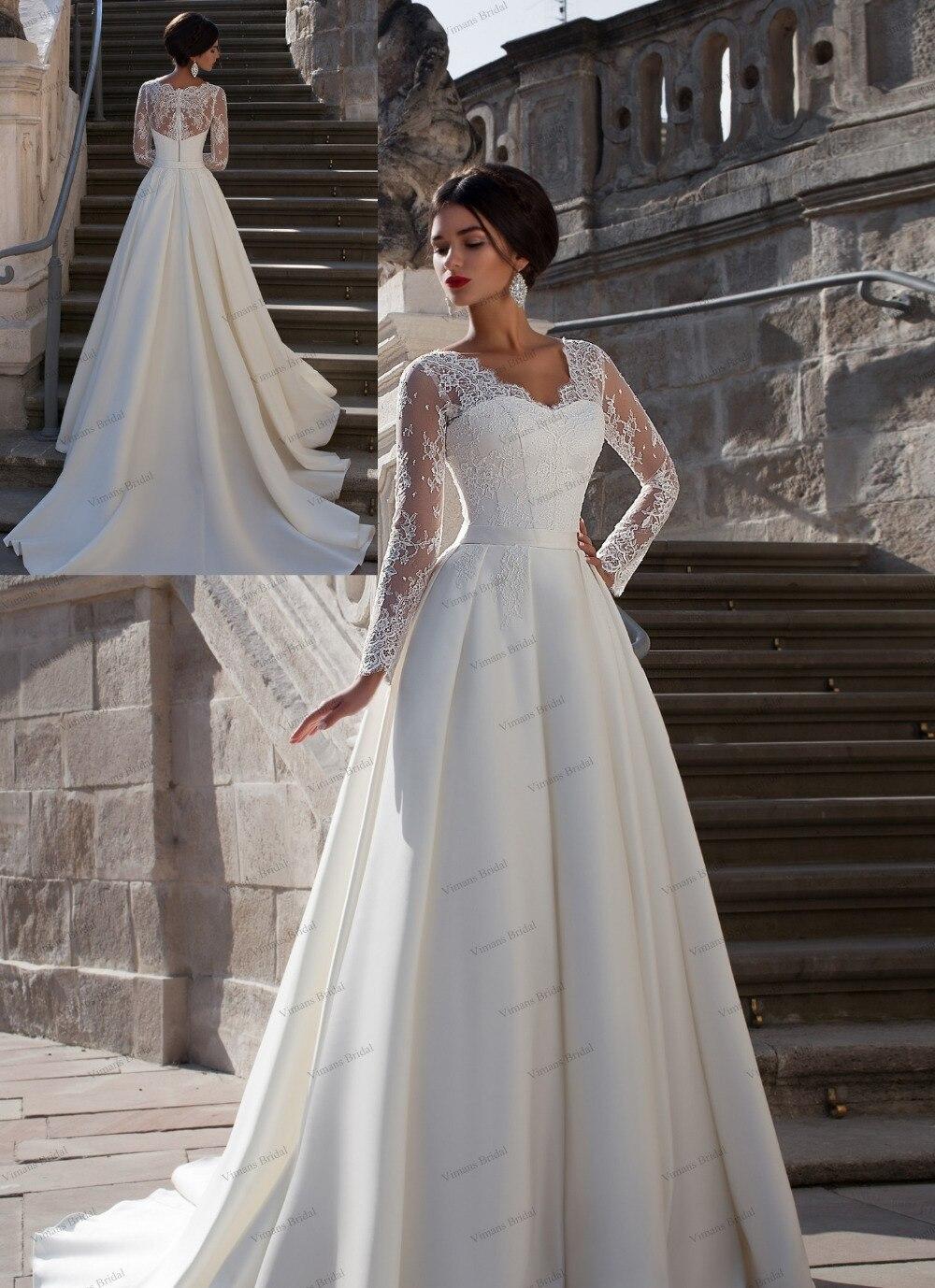 Свадебное платье для леди