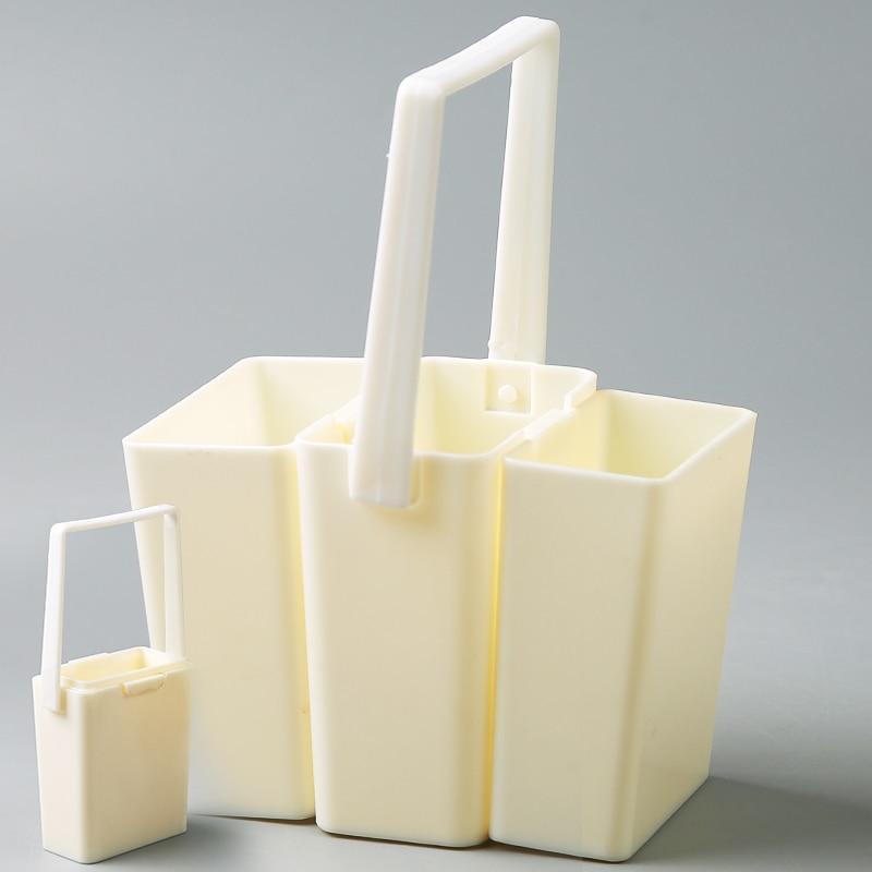 Bgln Triple Brush Washing Bucket High Quality Plastic Buckets Wash Pen Barrel Art Supplies
