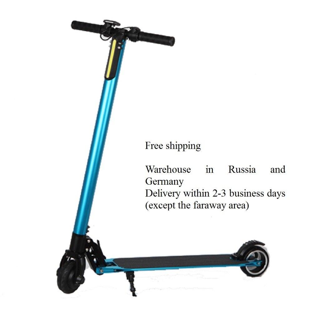 SUPERTEFF EW8 scooter Eléctrico plegable bicicleta eléctrica 6,5