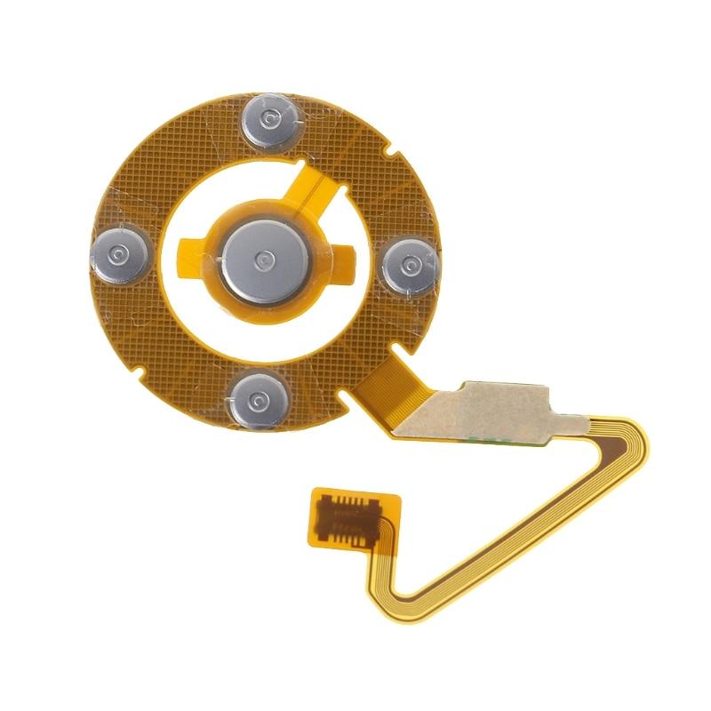 Volhardend Vervanging Deel Klik Wiel Hoofdtelefoon Jack Flex Lint Kabel Voor Ipod Nano 5 Speciale Zomerverkoop
