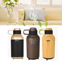 Functional Cup Style Car Fragrant Humidifier Portable Air Purifier Unique Bottle-shape Design Diffuser For Home Car