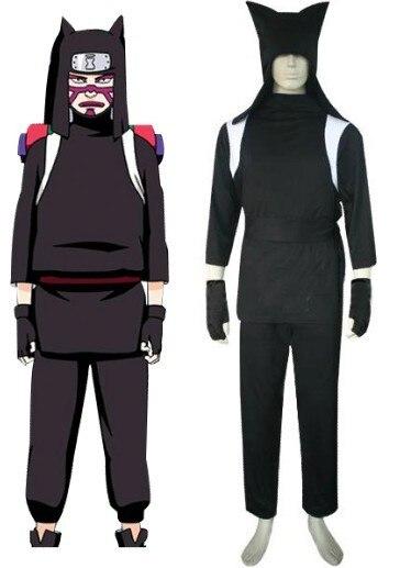 Free Shipping font b Naruto b font Kankuro Ninja Uniform Anime font b Cosplay b font