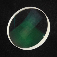 1PC 80mm Optical Glass Focal Length 330mm FGMC Doublet Optics Double Convex Lens For DIY Astronomic Telescope Objective Lens