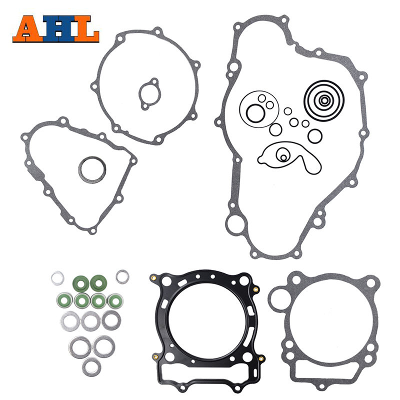 AHL Motorcycle Gasket & Valve Oil Seal Sets Kits For