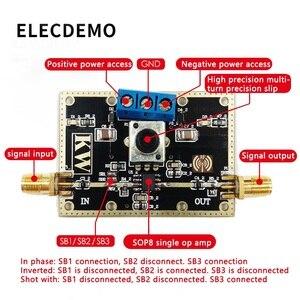 Image 3 - OPA690 модуль с широкополосной обратной связью напряжения Модуль операционного усилителя 500 МГц полоса пропускания открытая петля усиления 60 дБ функция демонстрационная плата