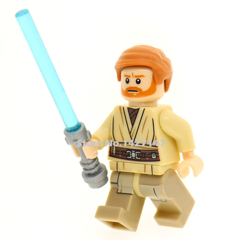 Single sale starwars pg obi wan kenobi with lightsaber