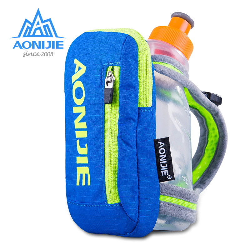 f302cc9286f AONIJIE Outdoor Cycling Running cross-country marathon 250ml kettle bag  Handheld Hydration pack Phone bag