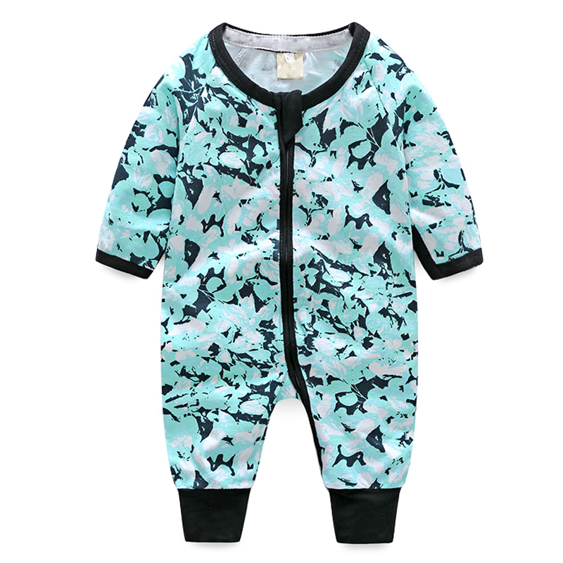 2018 Baby Clothes Romper Baby Girl Long Sleeve Outfits Cotton Print Kids Costume Infant Jumpsuit bebe Overalls Newborn Clothing