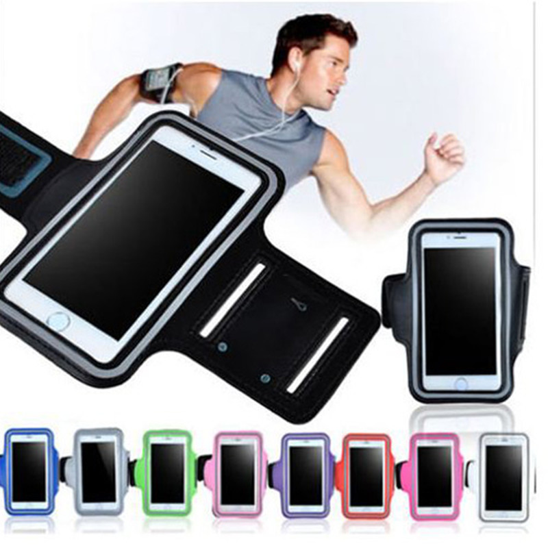 Universal Running Arm Band Case for Samsung S5 S6 S7 Phone Holder Sports Jogging