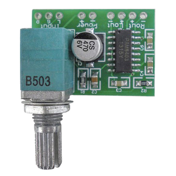 PAM8403 mini 5V digital power amplifier board with switch potentiometer can USB power supply