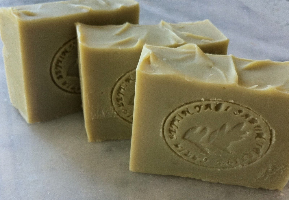 Greek 100% Handmade Olive Oil Soap Green Tea & Black Tea +3 Oils Free Ship