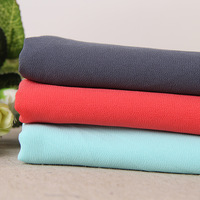 10yards New High Twist Stretch Chiffon Satin Chiffon Beads Knitted Fabrics Clothing Factory Outlets Suit Lining