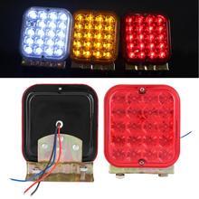 Прицеп Водонепроницаемый светодиодный фонарь светильник задний стоп-сигнал море светодиодный фонарь стоп указателя поворота для Кемперы б/у лодки полу-грузовик