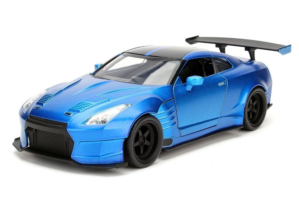 Jada 1:24 FAST & FURIOUS F8 Brian's Nissan GT-R R35 BEN SOPRA Diecast Model Car NEW IN BOX