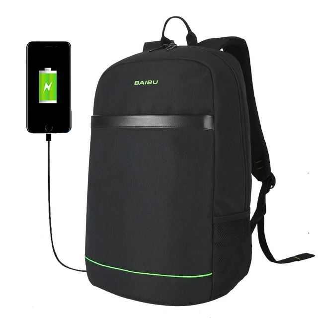 a00cf6048895 Anti theft Backpack Multifunction USB charging Men 15 inch Laptop Backpacks  Teenager New Male Mochila Leisure