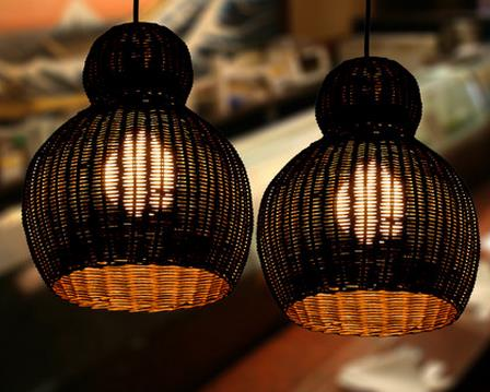 Southeast Asia rattan weaving single head  Pendant Lights  creative personality retro balcony restaurant hot pot shop LU811248 tt tf ths 02b hybrid style black ver convoy asia exclusive