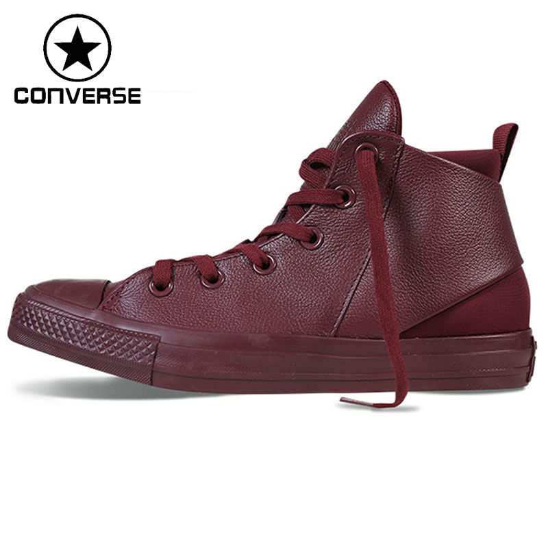 Original Converse all satr sloane monochrome leather Women's Skateboarding Shoes Sneakers sharon sloane трусы с внутренним анальным страпоном размер l