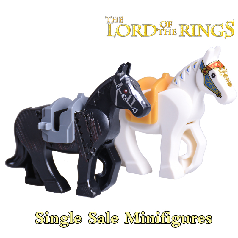 Single sale horse building blocks nexo knights the lord of