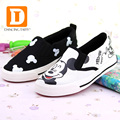 2017 New Spring Cartoon Children Shoes Brand Canvas Rubber Boys Girls Sneakers Comfortable Slip On Kids Shoes Child Footwear
