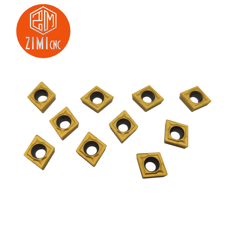 10PCS CCMT060204 US735 Carbide Insert For Internal Tool Turning Tool For Metal CNC Machine Cutting Tools