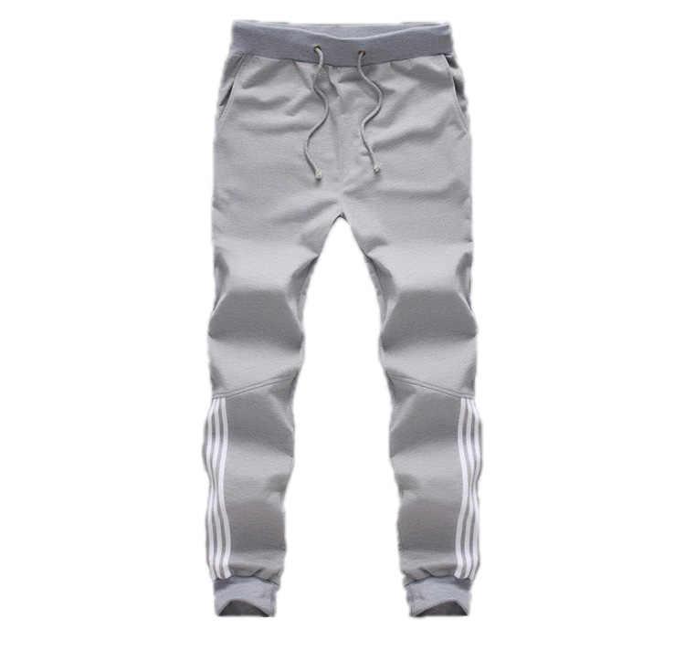 2019 новинка спортивный костюм днища мужчины повседневные брюки хлопчатобумажные спортивные штаны мужские бегунов полосатые штаны спортивные залы одежда плюс размер 5XL