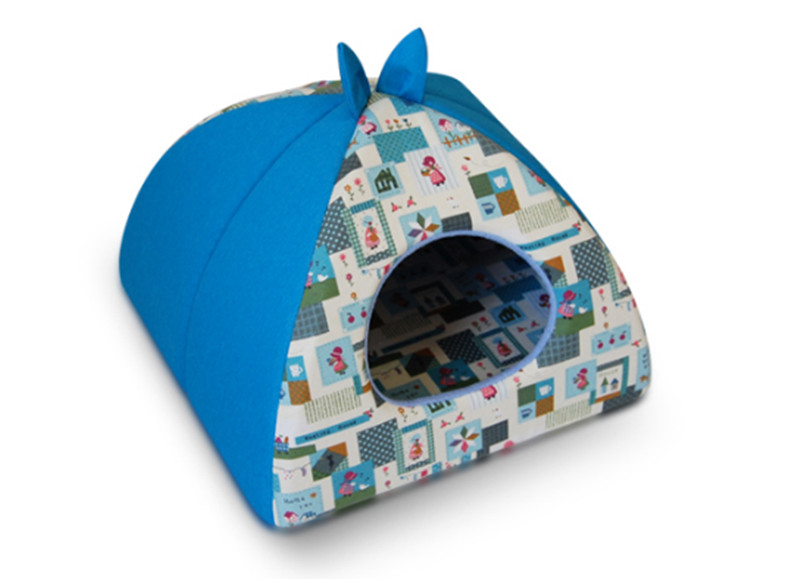 Cats House Dogs Nest Cute Animal Ears Design Kennel For Small Medium Pets Chihuahua Teddy 160428-31