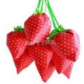 1pcs/Lot Foldable Strawberry Shopping Bag Several Colors Wholesale