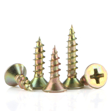 Phillips Flat Head Cross Recessed Fibreboard Screws Self-Tapping Countersunk Zinc Plated Carbon Steel Wood Screw Bolt M3.5 M4 M5 m5 m5 14 m5x14 m5 16 m5x16 m5 18 m5x18 304 316 stainless steel ss din965 philips cross recessed countersunk csk flat head screw