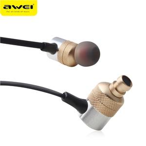 Image 2 - Awei ES Q6สายIn Earหูฟัง3.5มม.หูฟังแบบSuper Bassพร้อมชุดหูฟังไมโครโฟนหูฟังหูฟังAuriculares Kulaklk