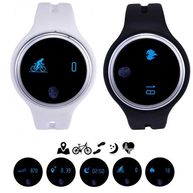 E07 Водонепроницаемый Bluetooth Smartwatch Шагомер Фитнес-Трекер Браслет Смарт Часы для IOS Android телефон Смарт Носимых Устройств
